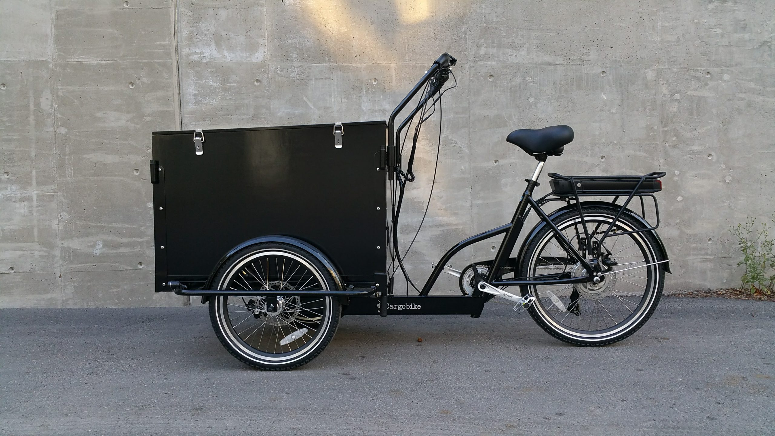 CARGOBIKE CLASSIC BOX ELECTRIC + BAFANG 8FUN 250W/36V/13Ah