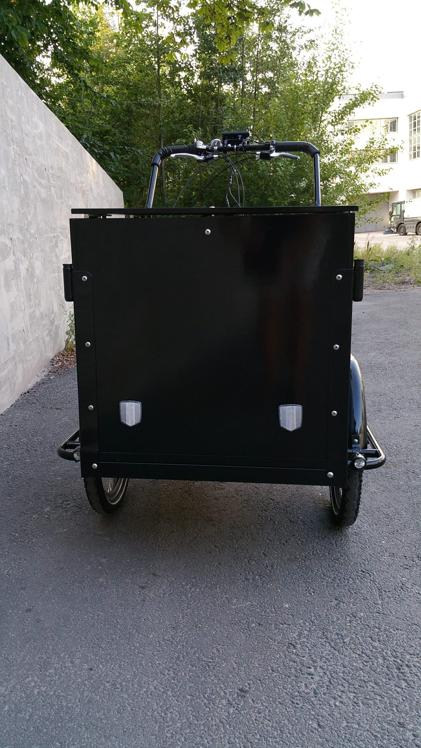 CARGOBIKE CLASSIC BOX ELECTRIC + BAFANG 8FUN 250W/36V/13Ah