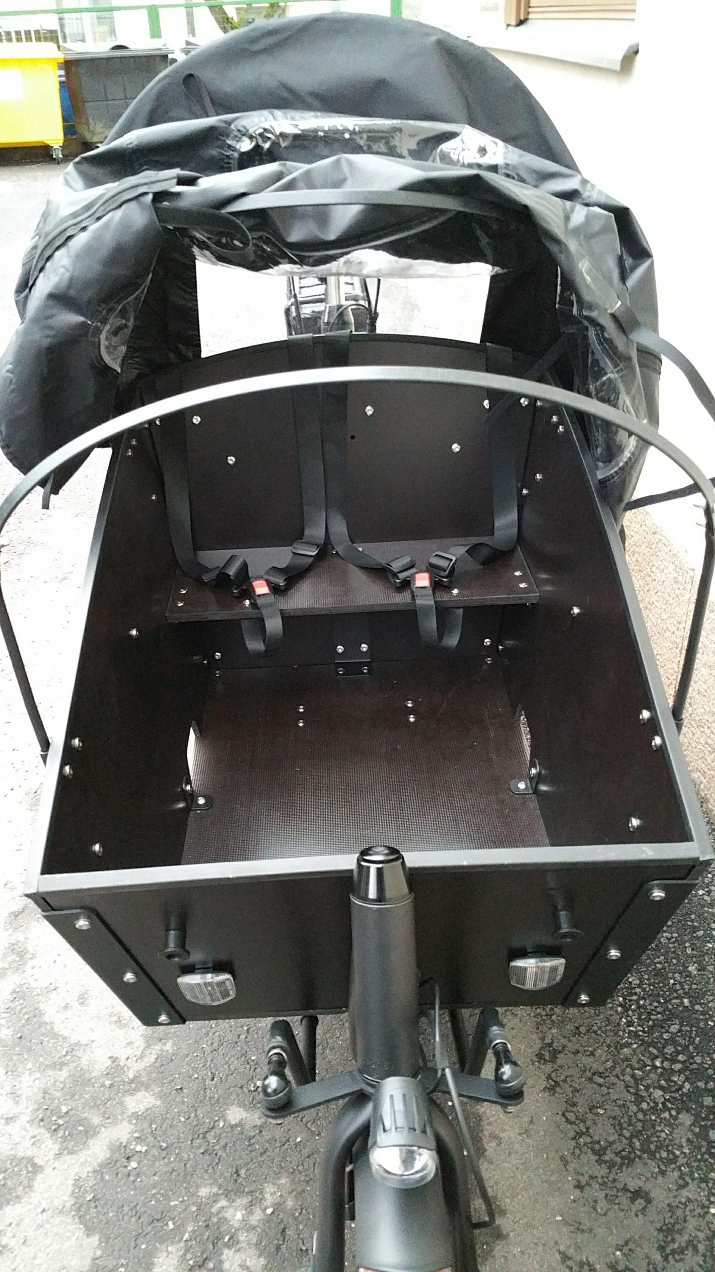 Cargobike Long Lite Electric tavarapyörä Bafang 250W / 80Nm/13Ah