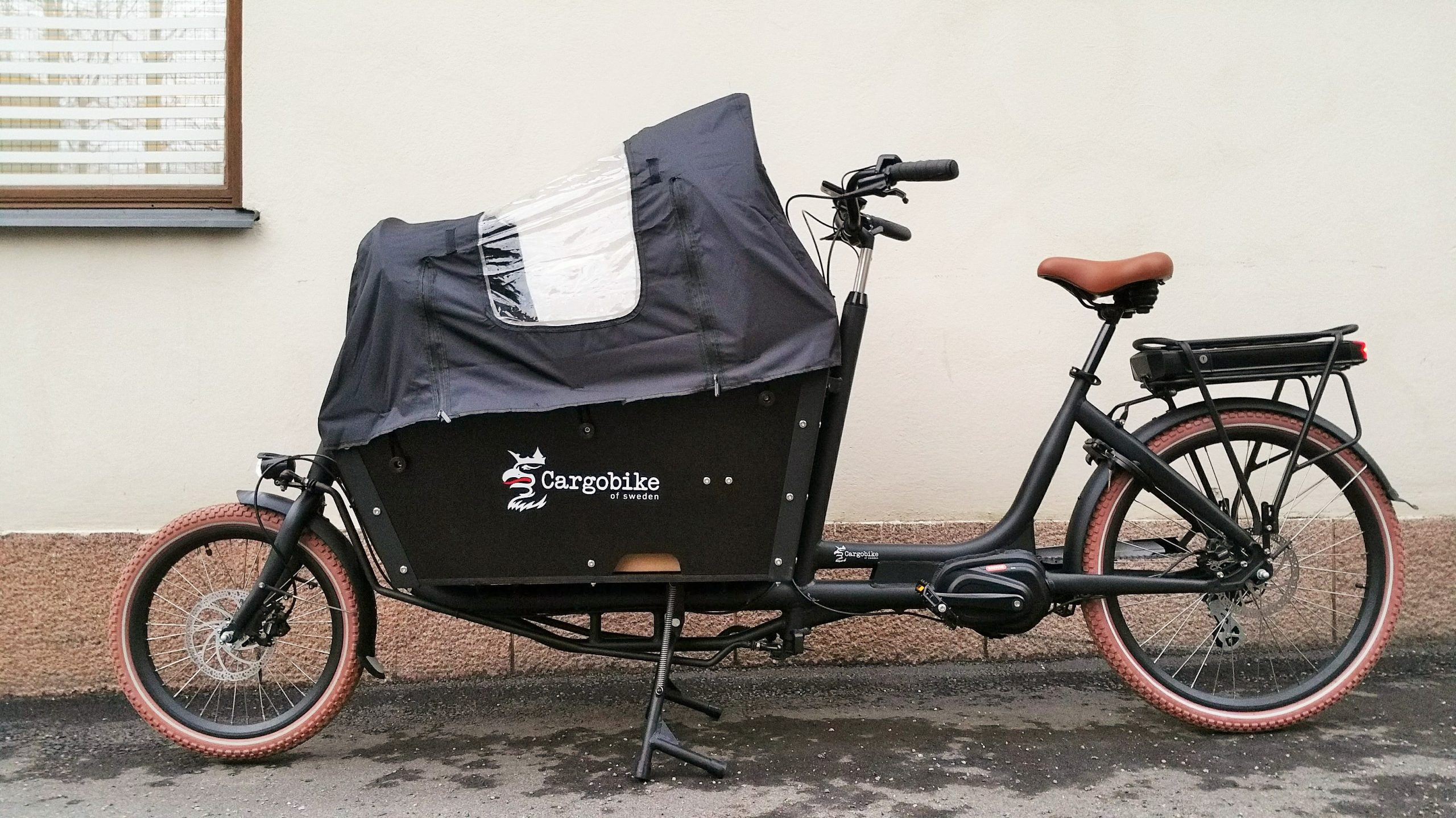 Cargobike Long Lite Electric tavarapyörä Bafang 250W / 80Nm/13Ah