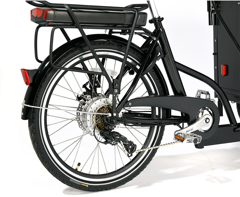 Cargobike Kindergarden Electric + Bafang 8Fun 250W/45Nm/13Ah
