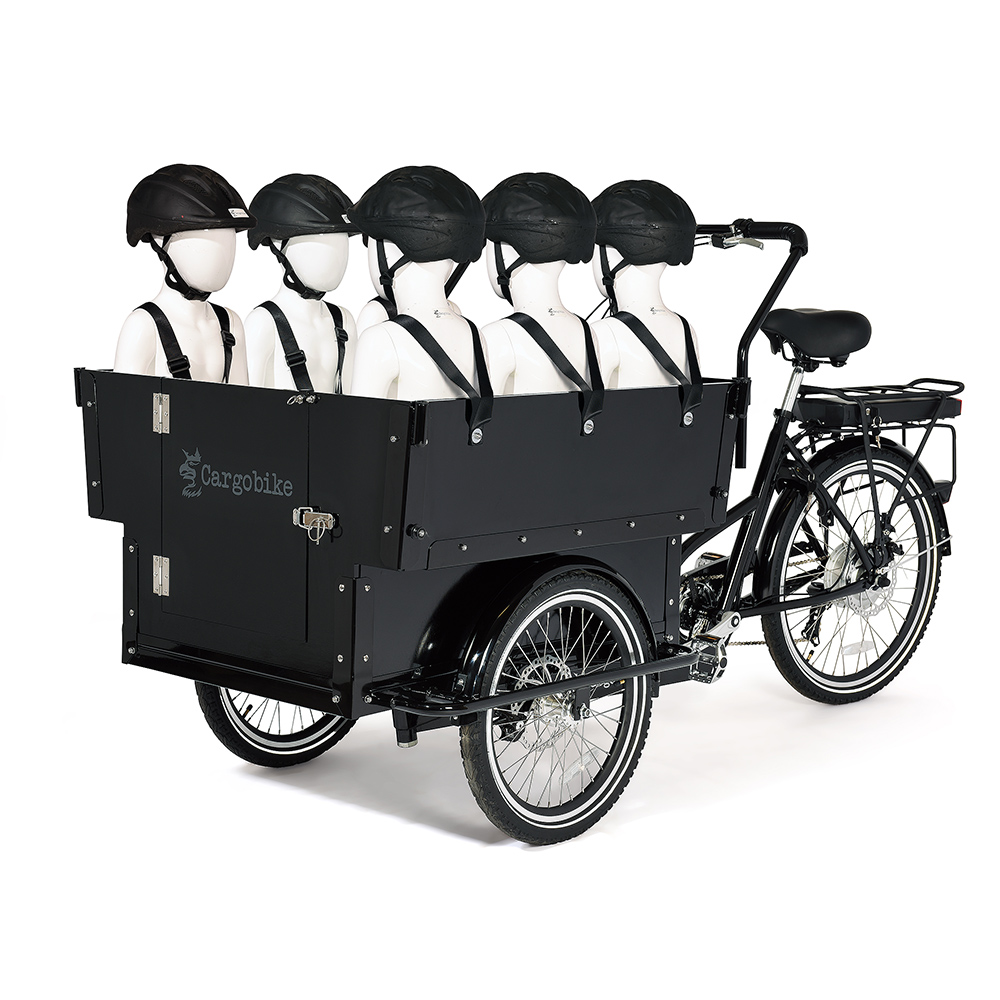 Cargobike Kindergarden Electric + Bafang 8Fun 250W/45Nm/13Ah
