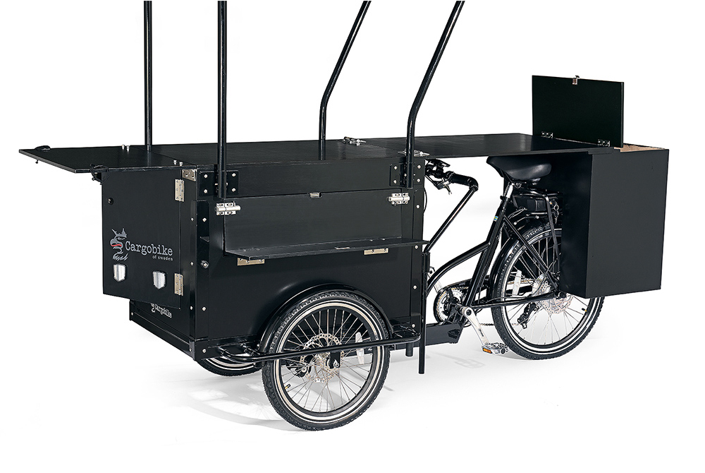 Cargobike Cafe Electric kahvilapyörä Bafang 8Fun 250W/45Nm/13Ah