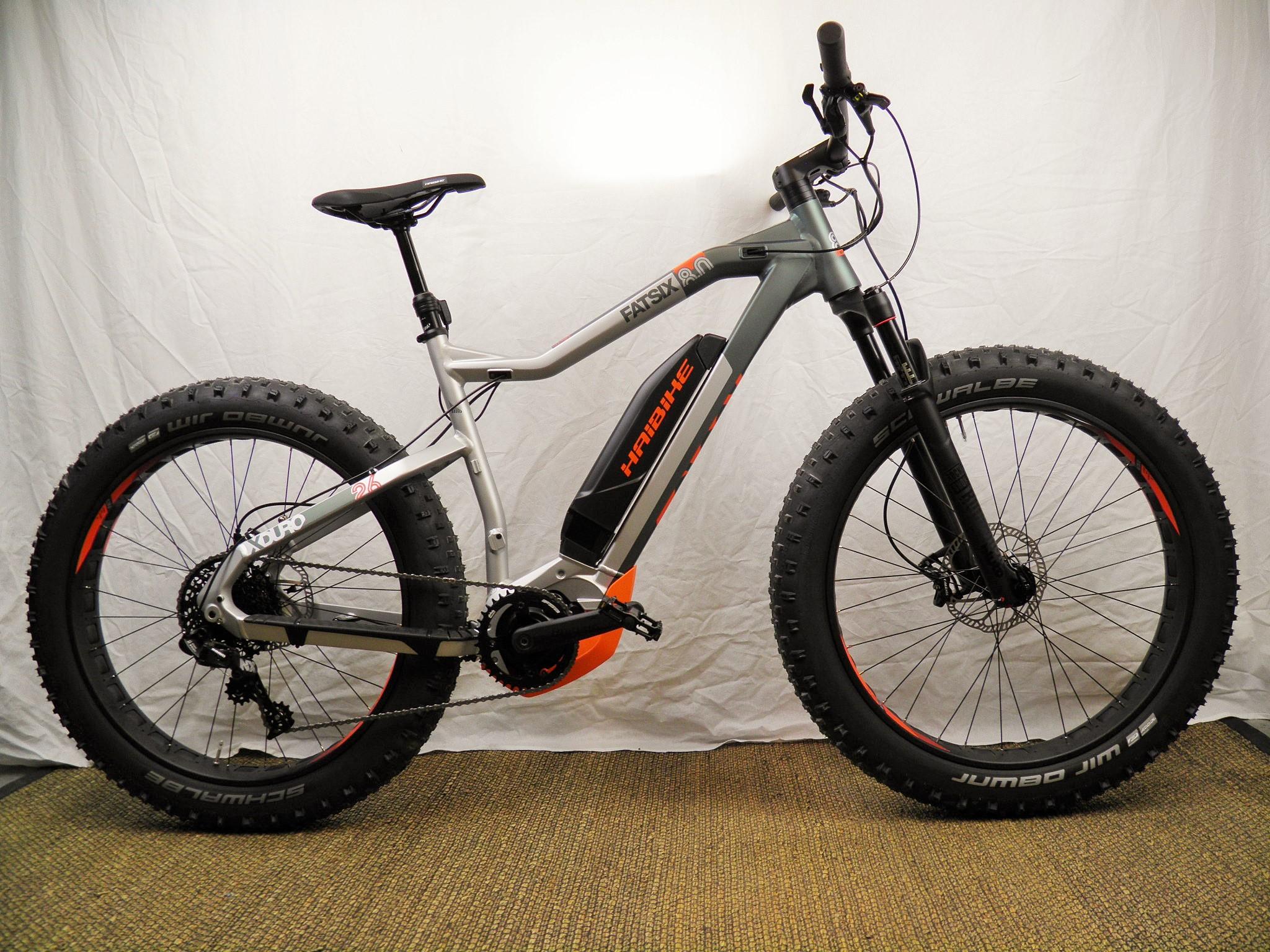 "Haibike Xduro FatSix 8.0 26"" 11-v + Yamaha PW 70Nm/36V/500Wh sähköfat"