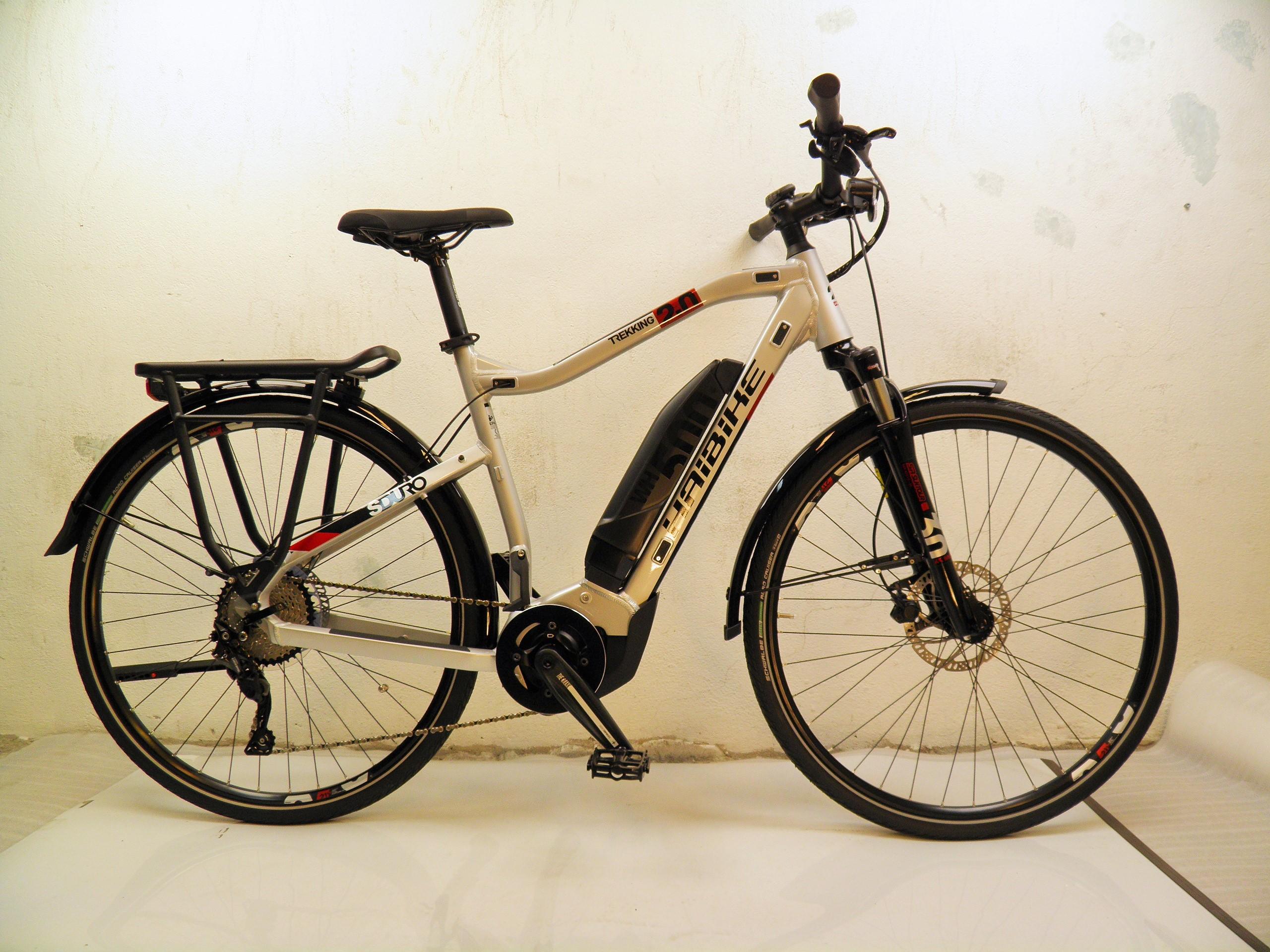 """2020 Haibike Sduro Trekking 2.0 M28"""" 10-v Yamaha PW-ST 70Nm/500Wh"""