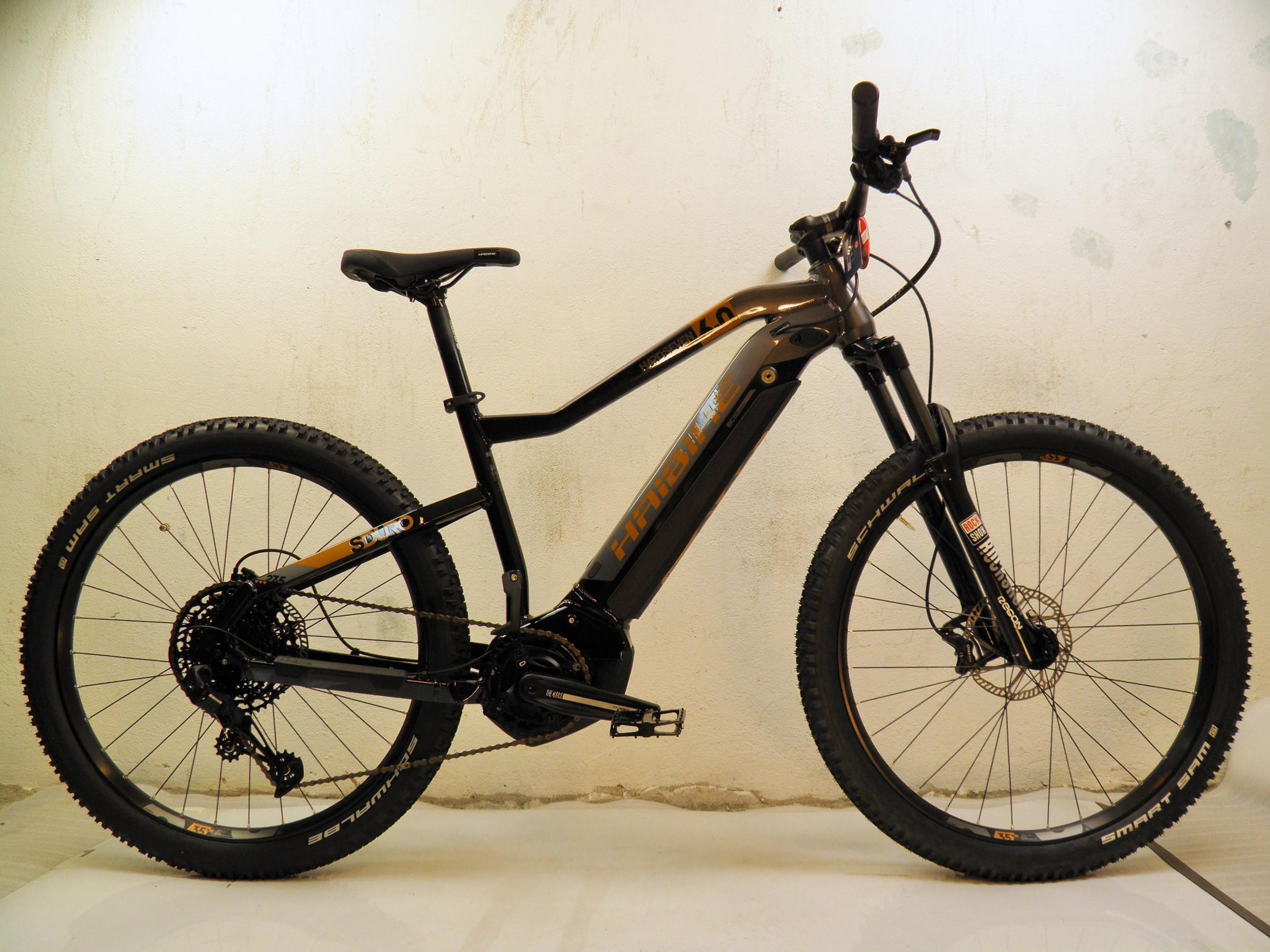 "2020 Haibike Sduro HardSeven 6.0 27,5+"" 12-v Yamaha PW-ST 70Nm/250W/500Wh"