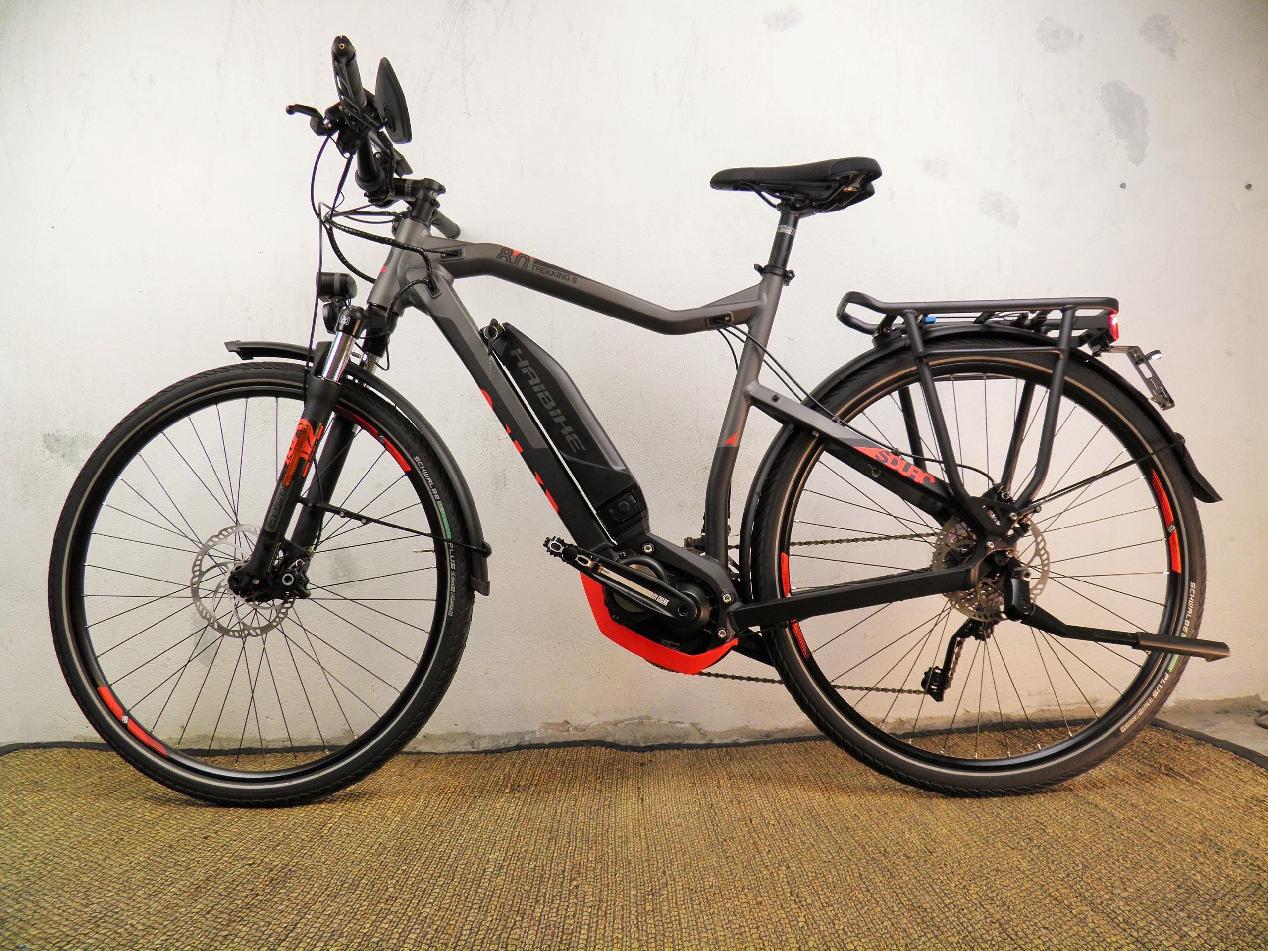 Haibike Sduro Trekking 8.0 S *45km/h* + Yamaha 500W/36V/500Wh/70Nm