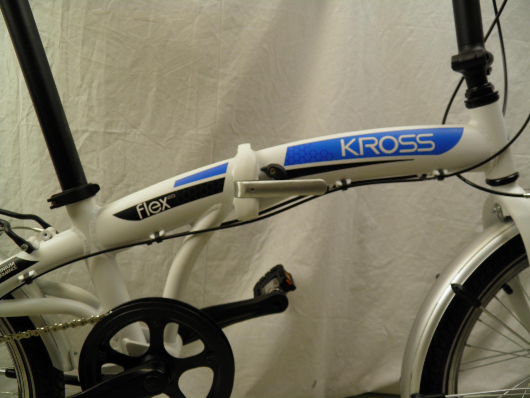 "KROSS Flex 2.0 20"" Shimano 6-v taittopyörä"